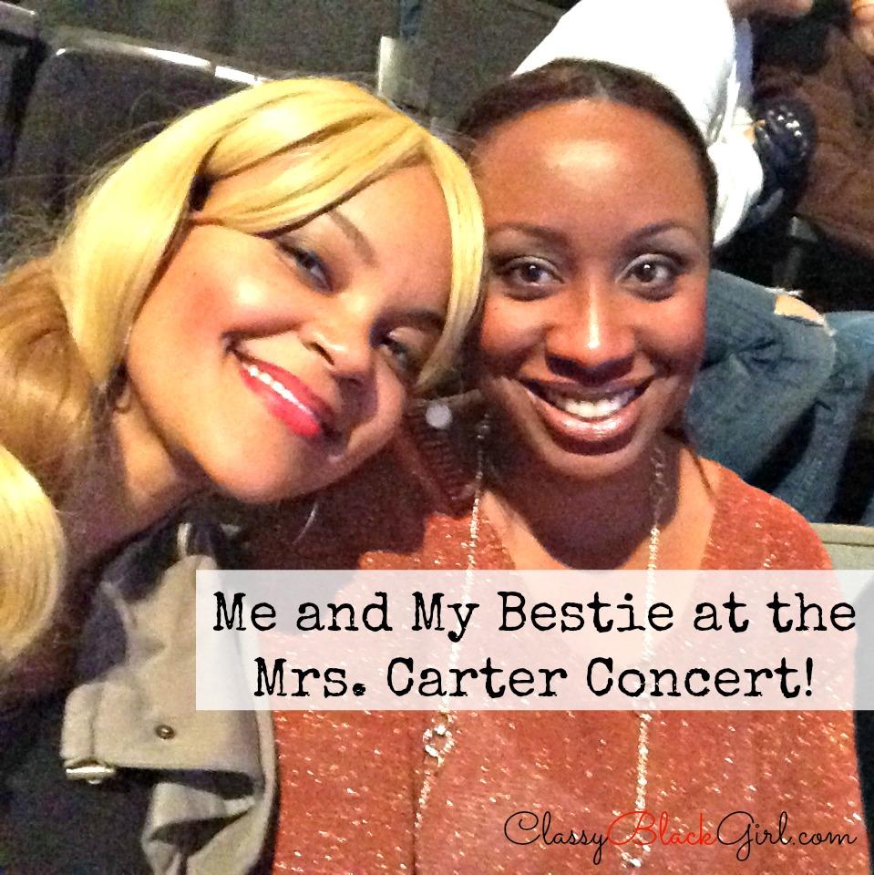 Beyonce Concert ClassyBlackGirl