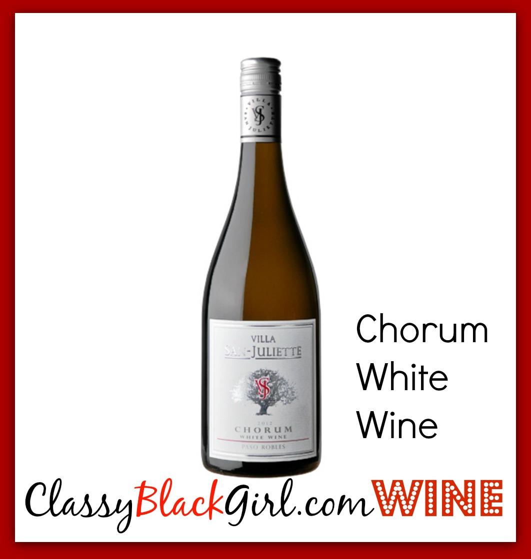 Chorum White wine Villa San Juliette