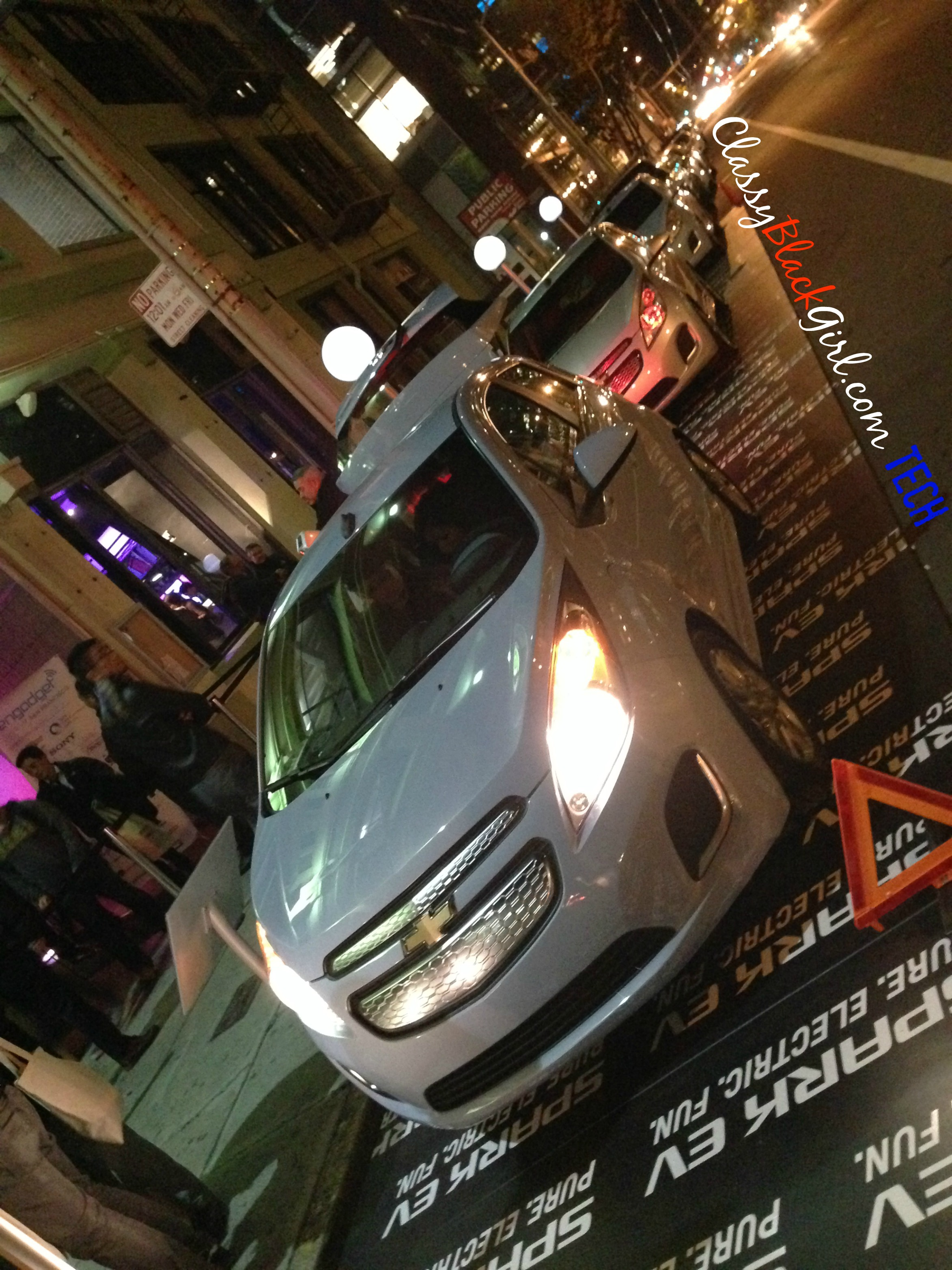Chevrolet SPARK #engdgtSF ClassyBlackGirl Tech San Francisco