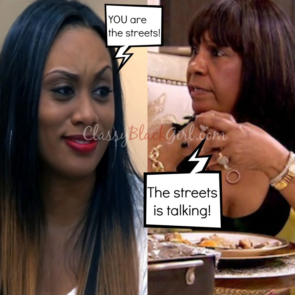 Mama Joyce Carmen #RHOA Real Housewives Kandi Shoe