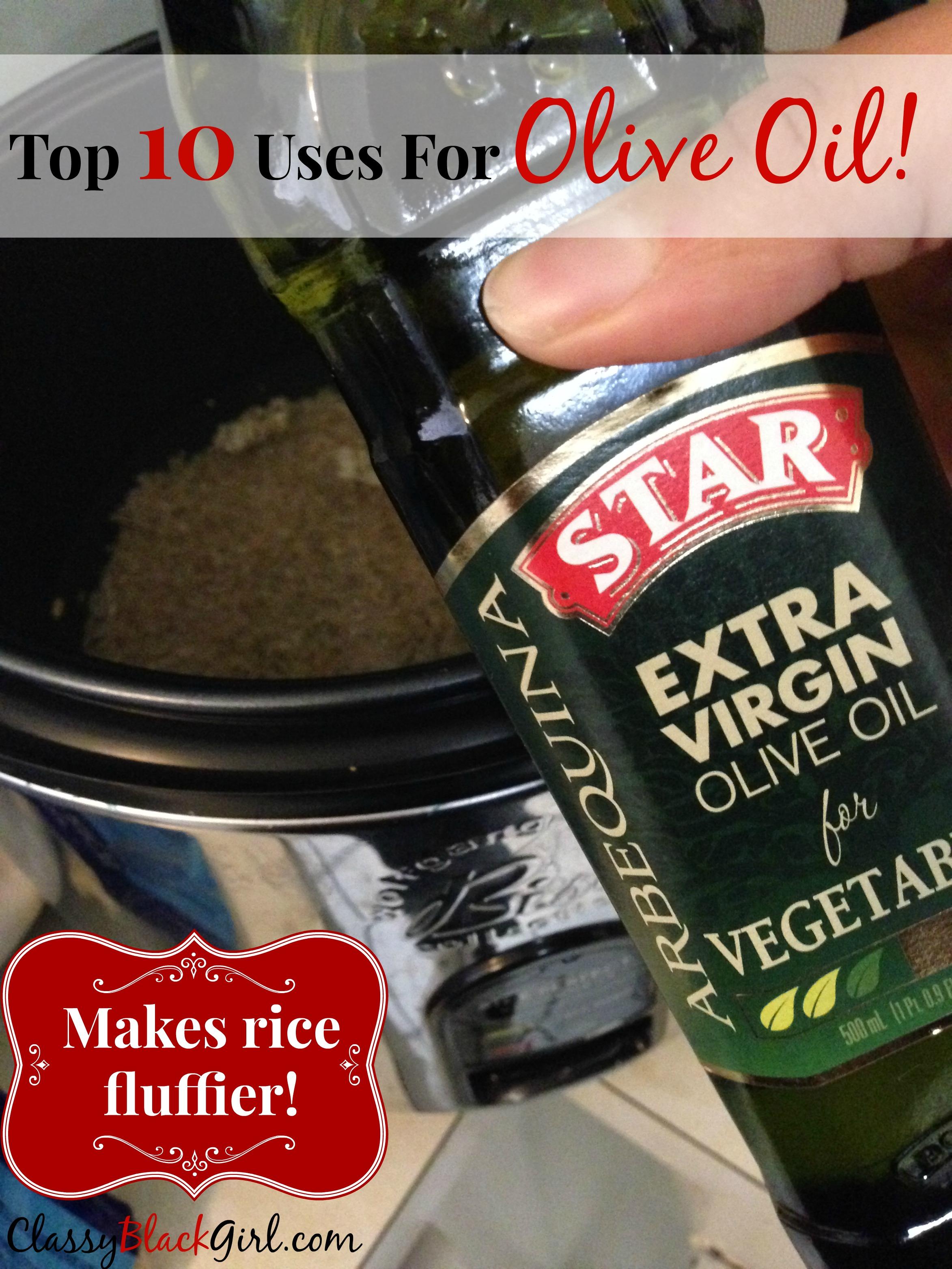 #StarOliveOil #shop #cbias OliveOil Makes Rice Fluffier ClassyBlackGirl