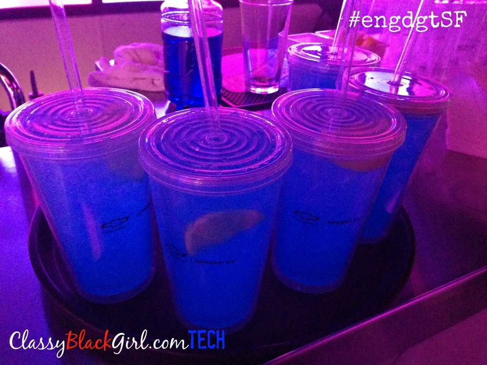 #engdgtSF Chevrolet Blue Drinks ClassyBlackGirl