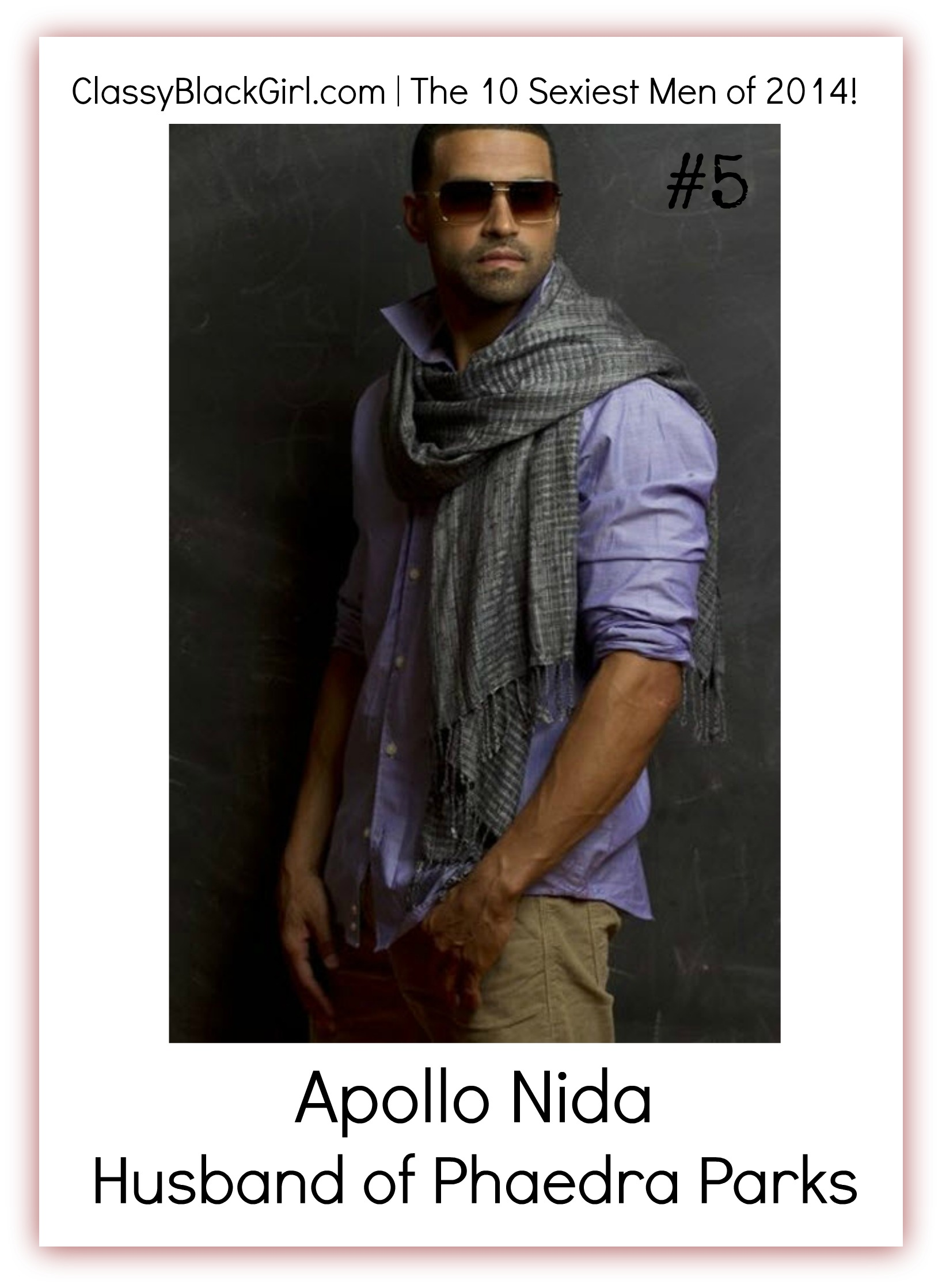 Apollo Nida RHOA Classy Black Girl 10 Sexiest men od 2014