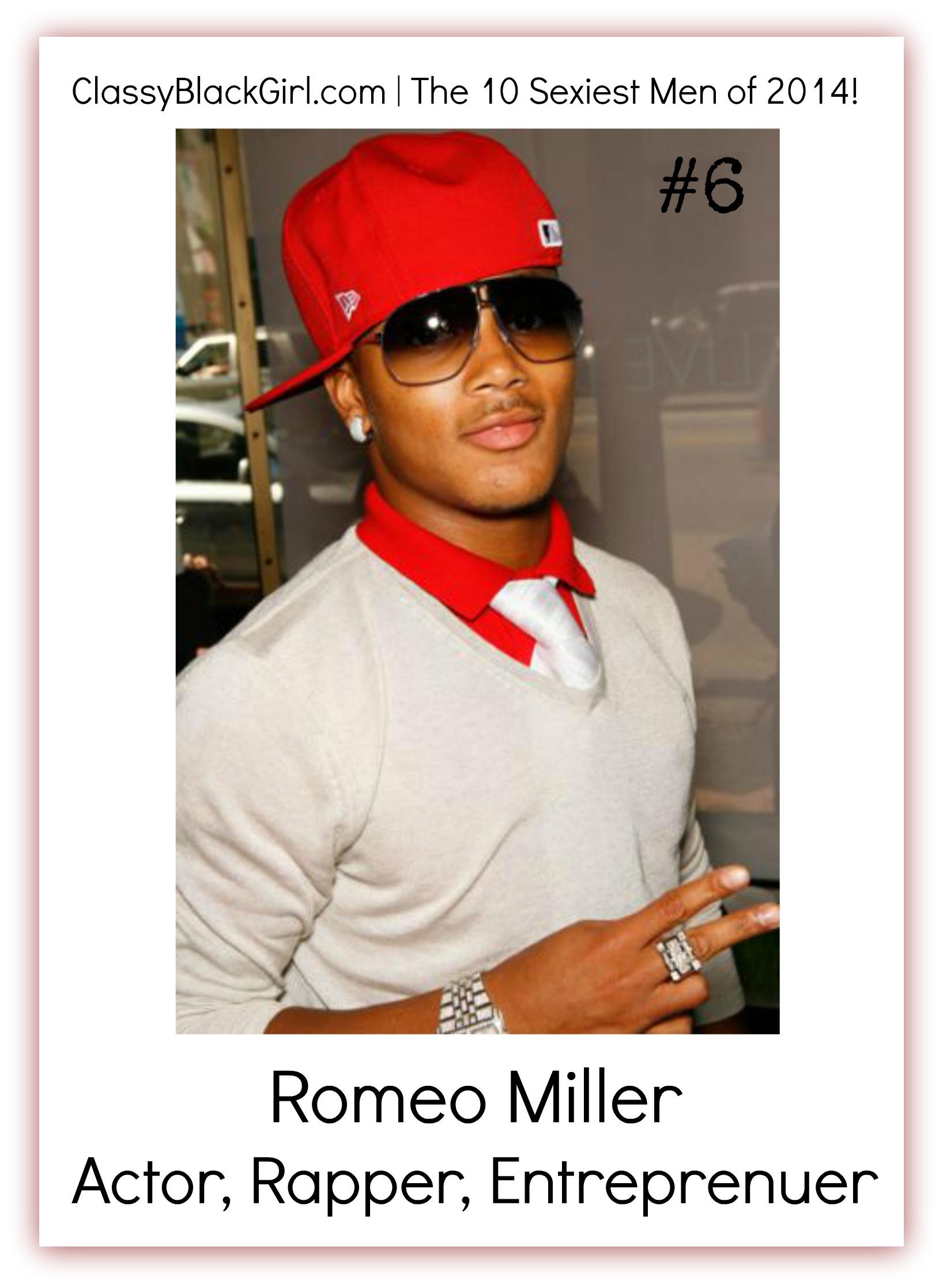 Romeo Miller Classy Black Girl 10 Sexiest Men of 2014