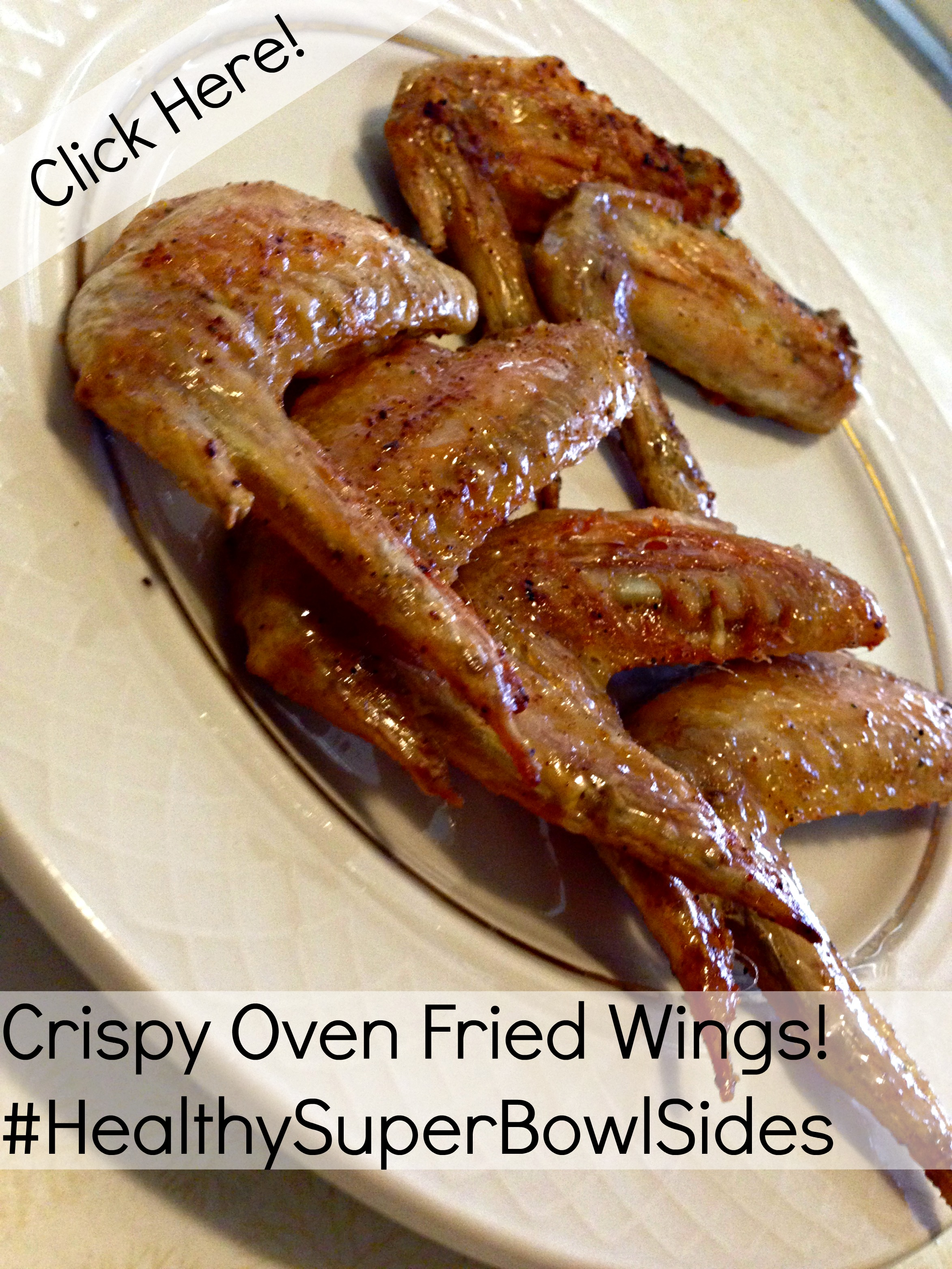 pinnable crispy oven fried wings super bowl healthy man trap meals