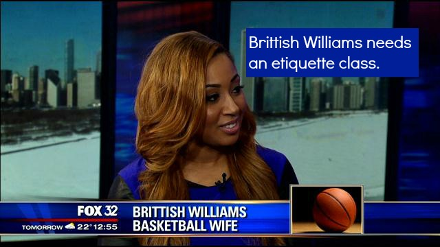 Brittish Williams Husband Embarassed ClassyBlackGirl
