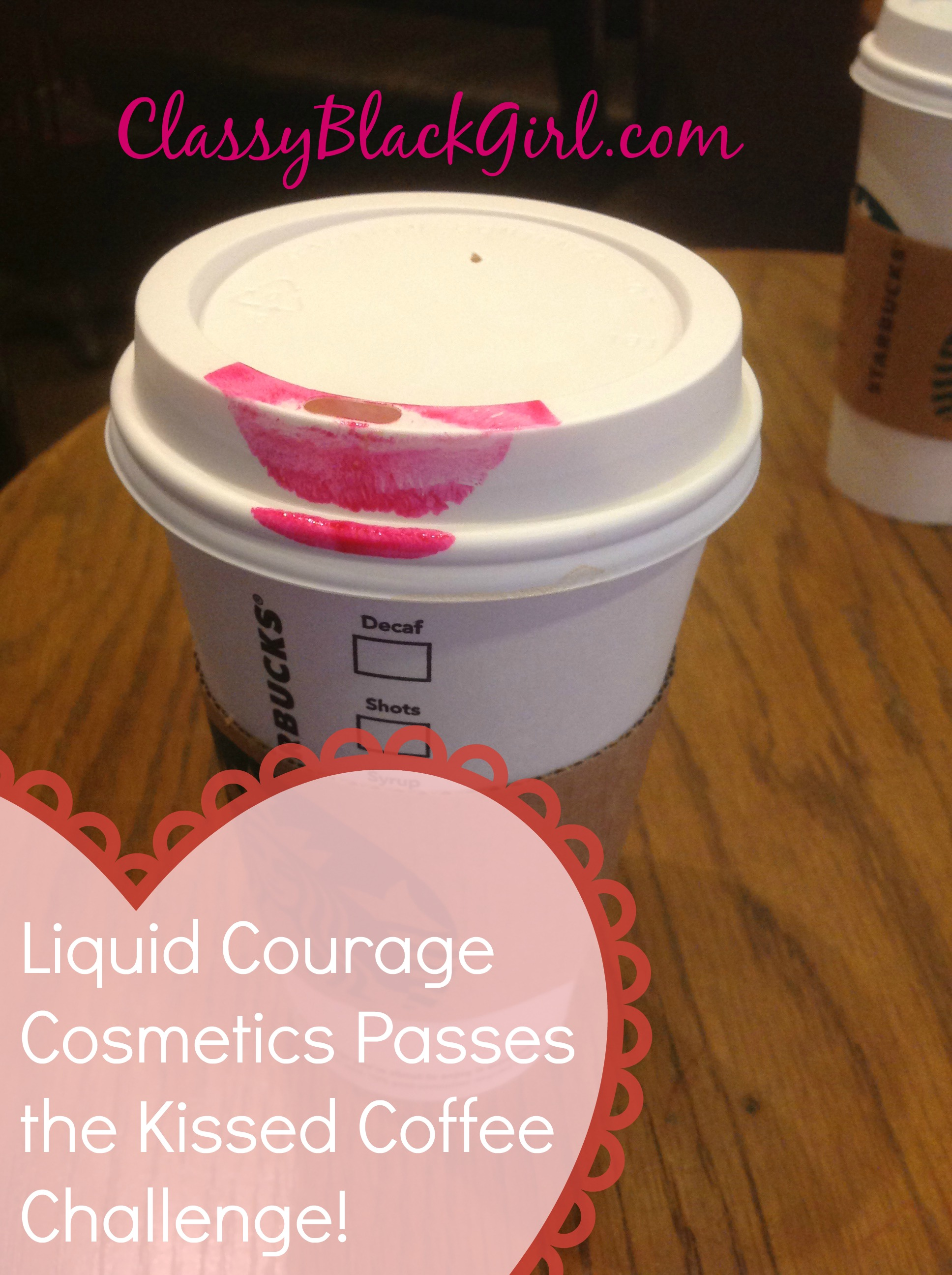 Classy Black Girl Liquid Courage Cosmetics Cherry on Top