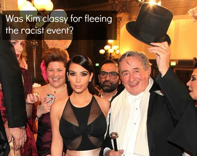 Kim Kardashain Vienna Ball Black Face smaller