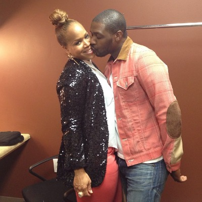 Tina Campbell and Teddy Campbell
