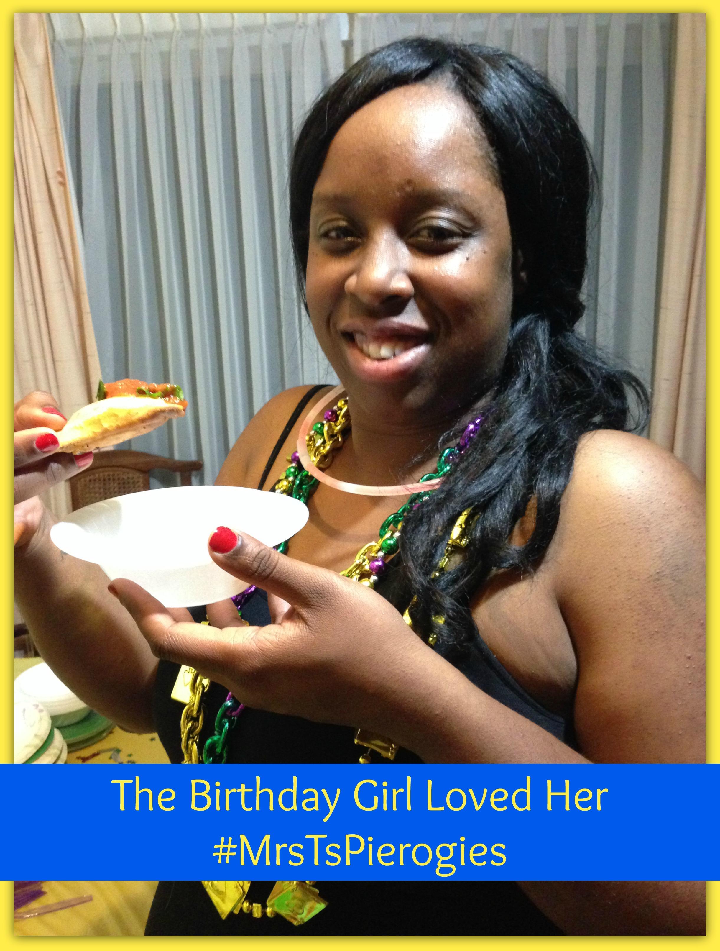 #sponsored #ad #MrsTsPierogies Birthday Girl