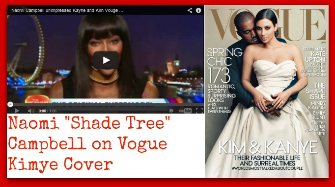 Naomi Campbell Kimye Vogue Cover