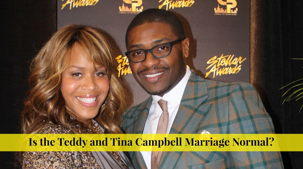Teddy and Tina Campbell Marriage Save