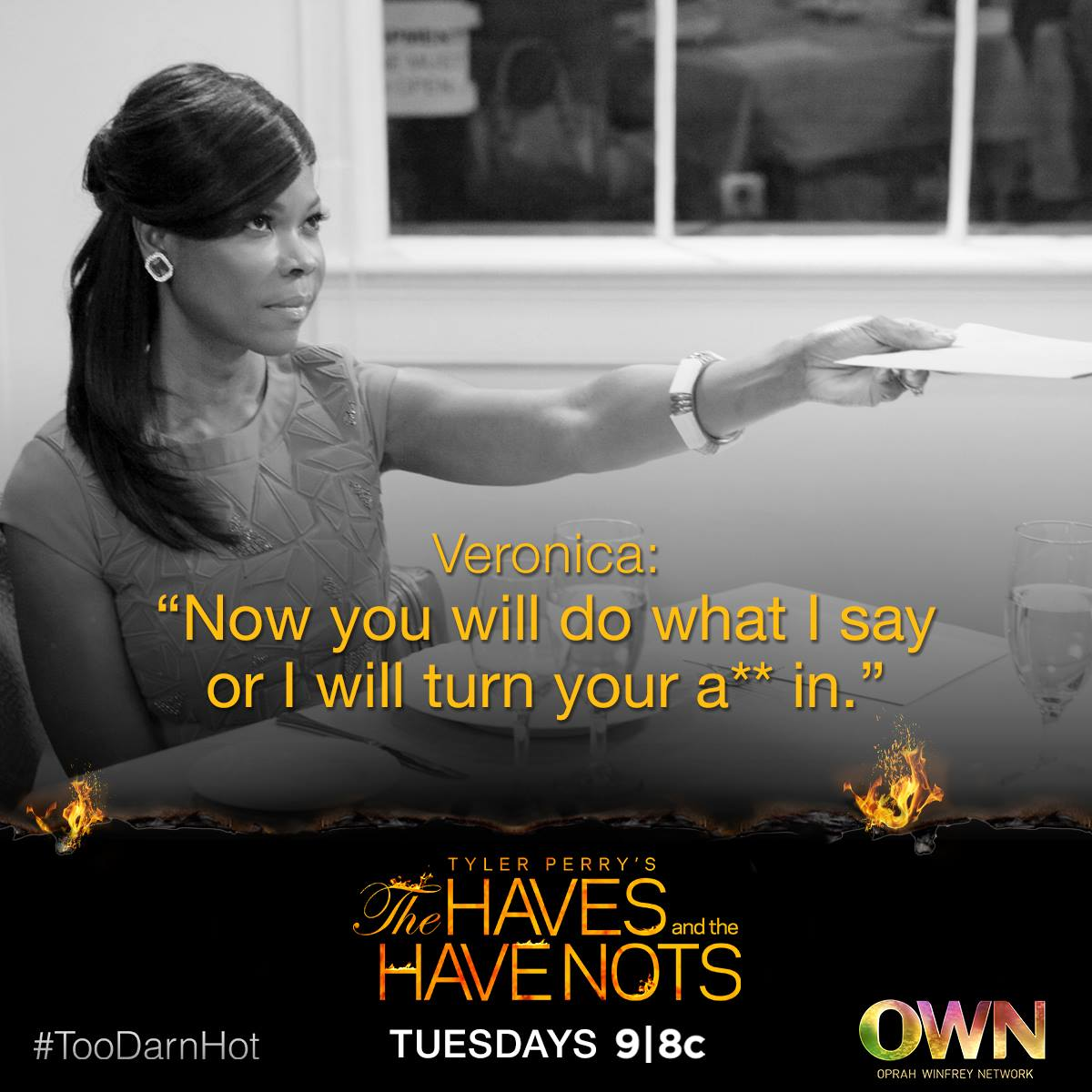 Veronica #HavesAndHaveNots Haves and the Have Nots