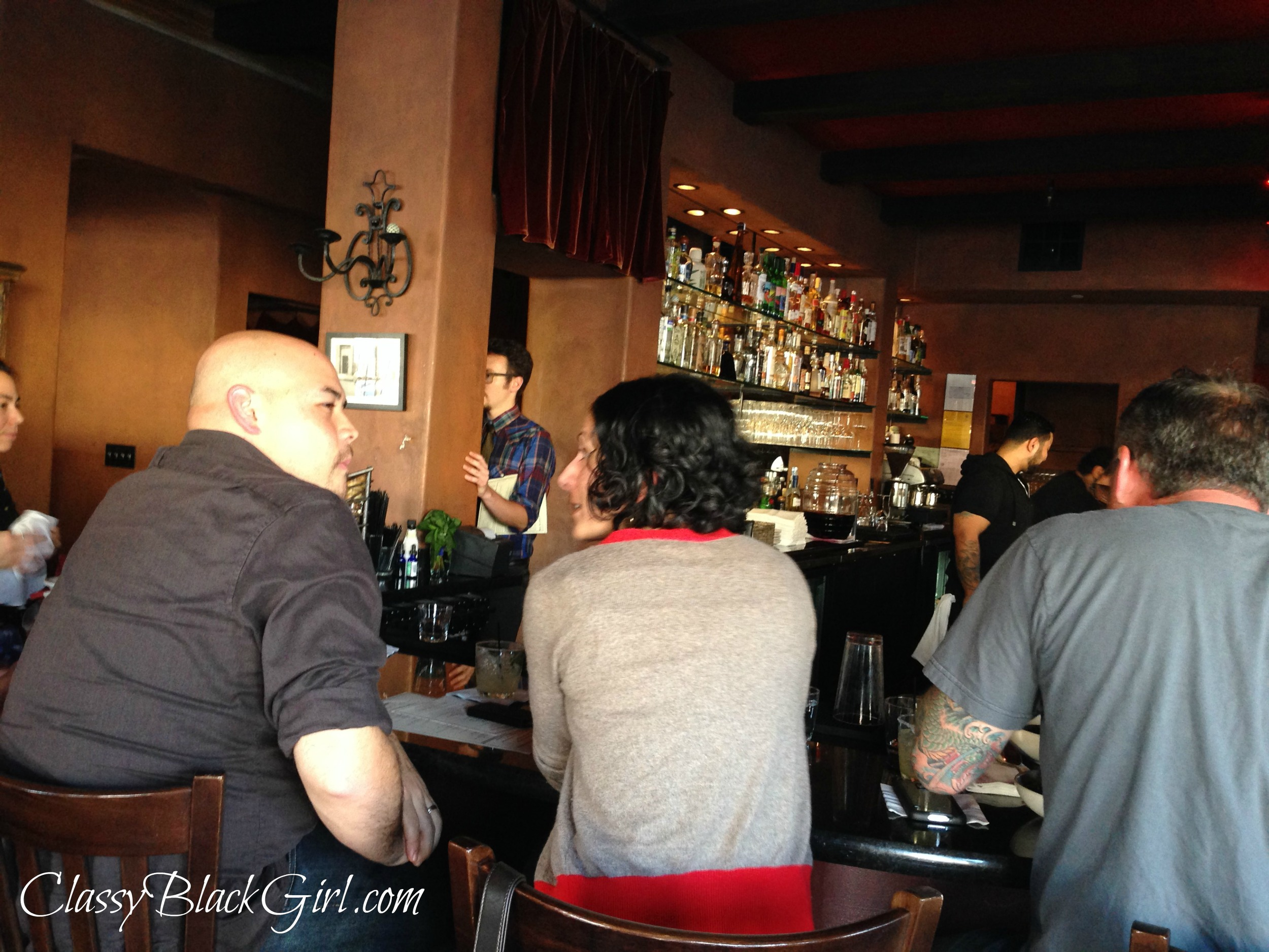 Diverse Bar Scene, Rumbo Al Sur, Oakland, Restaurant, Food, Food Review, ClassyBlackGirl.com, Sharelle D. Lowery