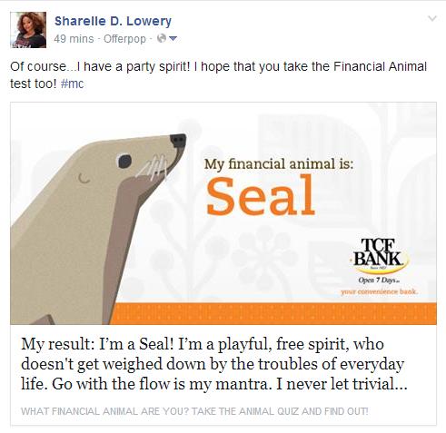 Financial Animal TCF Bank, #mc