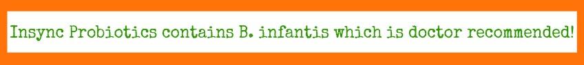 Insync Probiotics, #NaturalProbiotic