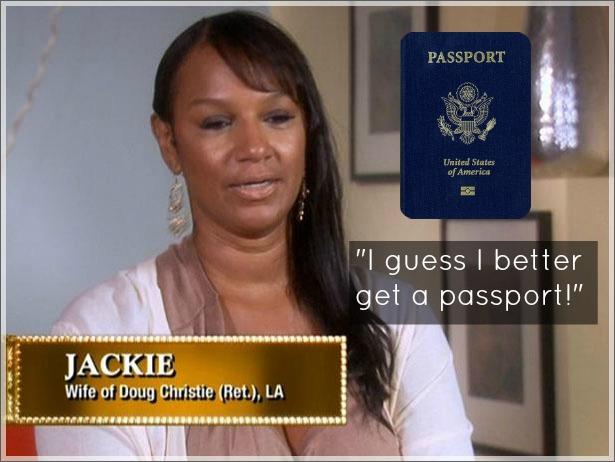 Jackie Christie Passport Classy Black Girl