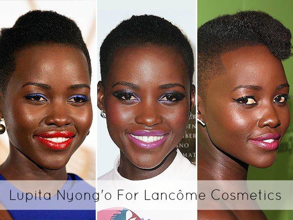 Lupita Nyong'o For Lancôme Cosmetics 1
