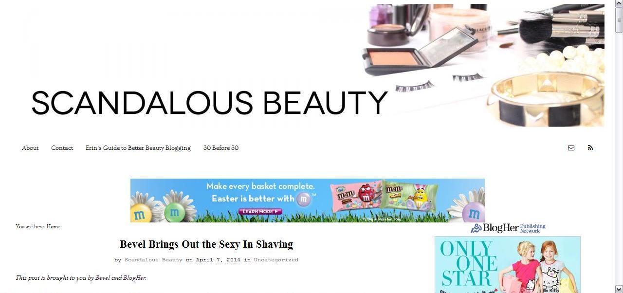 Scandalous Beauty