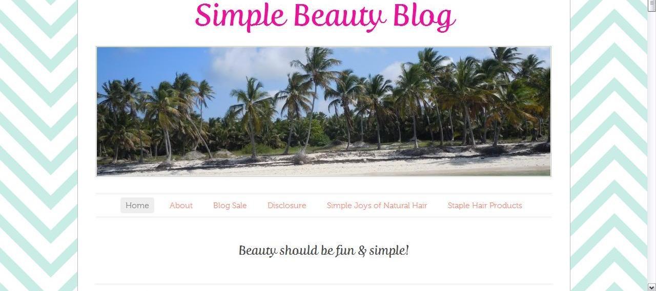 Simple Beauty Blog