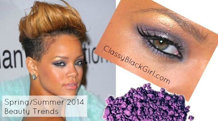 Spring Summer 2014 Beauty Trends Classy Black Girl picture two CBG