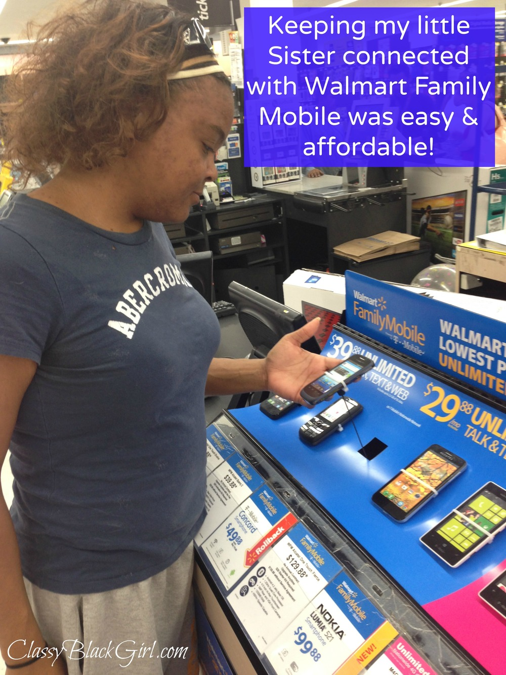 #FamilyMobile, ClassyBlackGirl.com, #CollectiveBias, #cbias, #shop, Lowest Priced Unlimited Plans