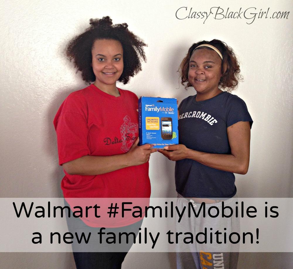 #New Family Tradition, walmart, #FamilyMobile
