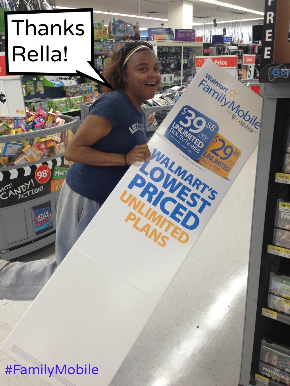Thanks Rella, #FamilyMobile, #shop