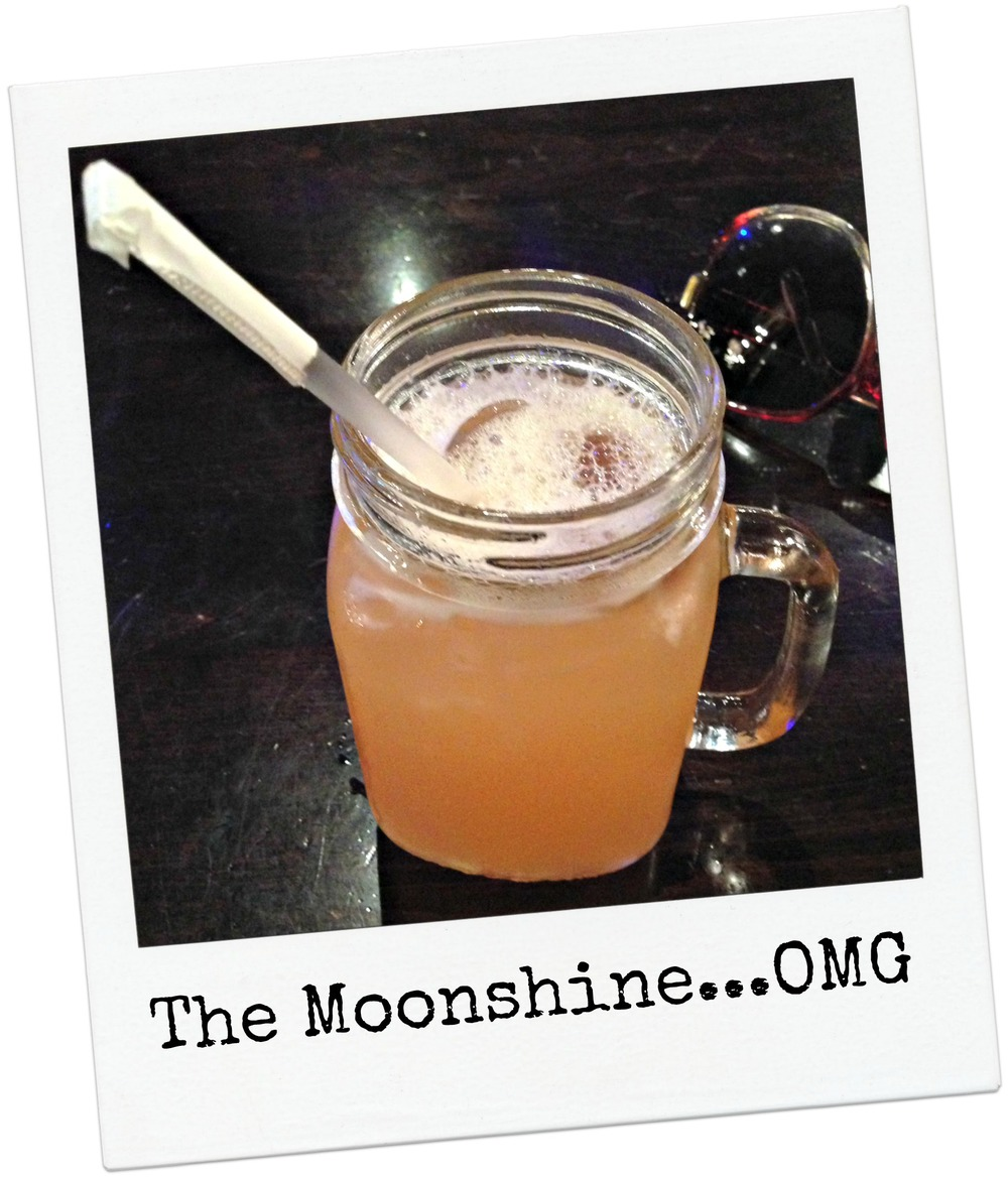 This Moonshine reminded me of Omega Oil without the fruit, Lawd Help Me!