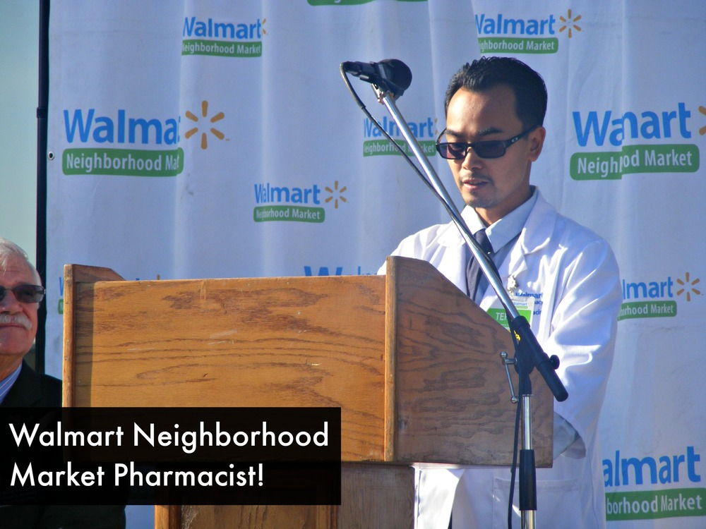 Walmart Neighborhood Market Pharmacist