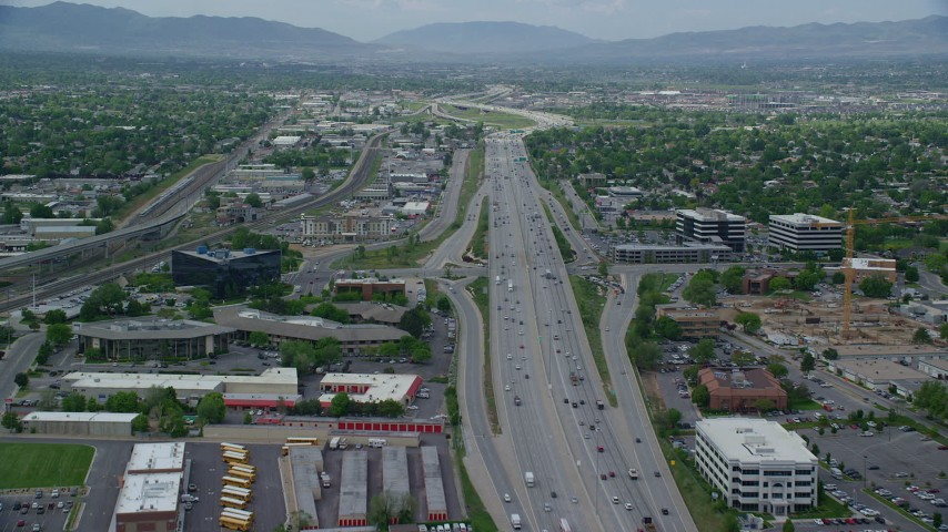 I-15 Corridor: - Delivery area between 1000 East and 1000 West along I-15 from Salt Lake City to Lehi