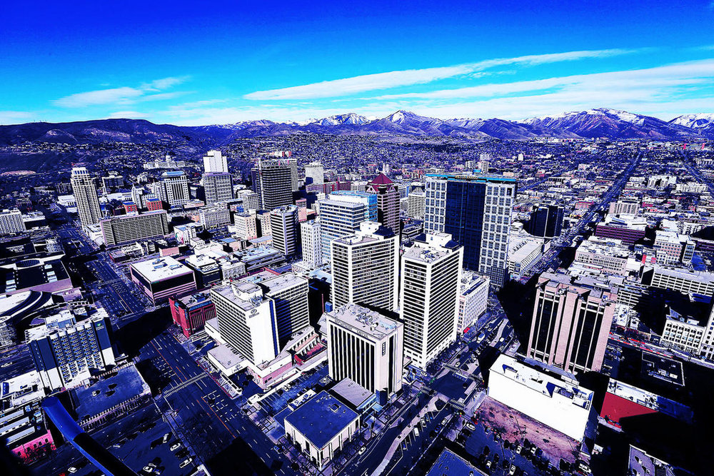 Salt Lake City Downtown area: - Delivery area includes the greater downtown SLC area up to the University of Utah.