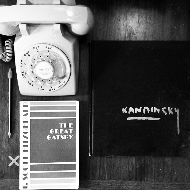 Your last name is Kandinsky, Fitzgerald, OR if you have my landline number. And yes, that really is my  working landline. I am currently the only person in their twenties who considers this to be the major selling point of Verizon's triple play package A working landline does most clearly signify adulthood...after all.