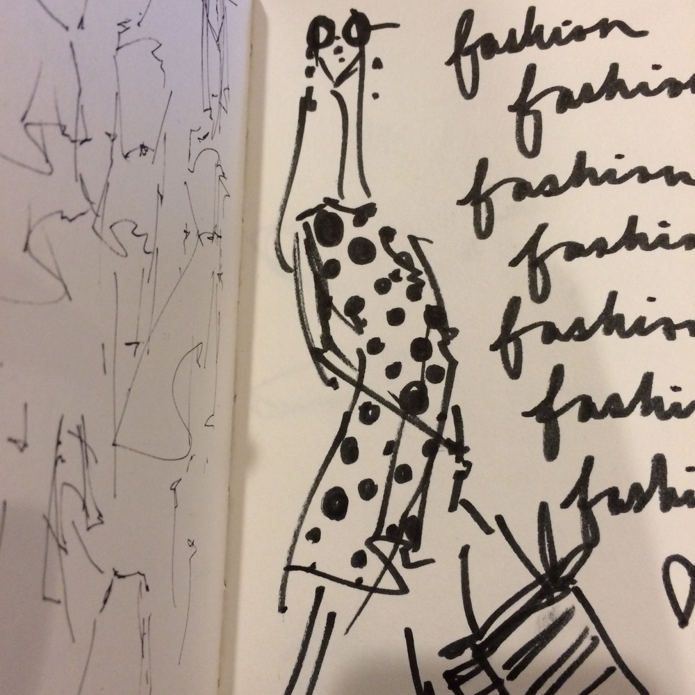 A glimpse into my sketchbook..