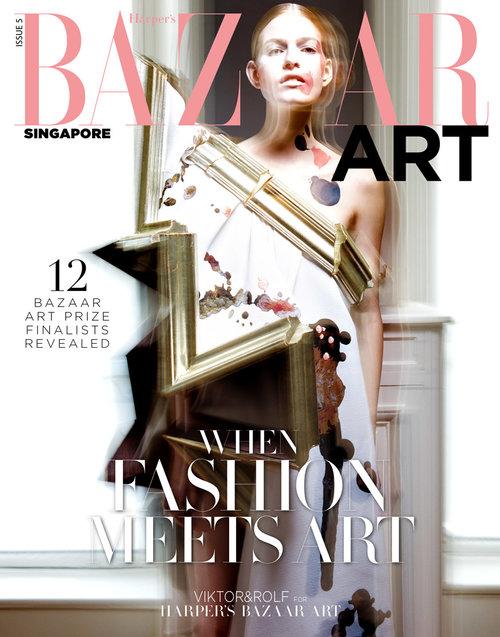 Harper's Bazaar Singapore Art Feature
