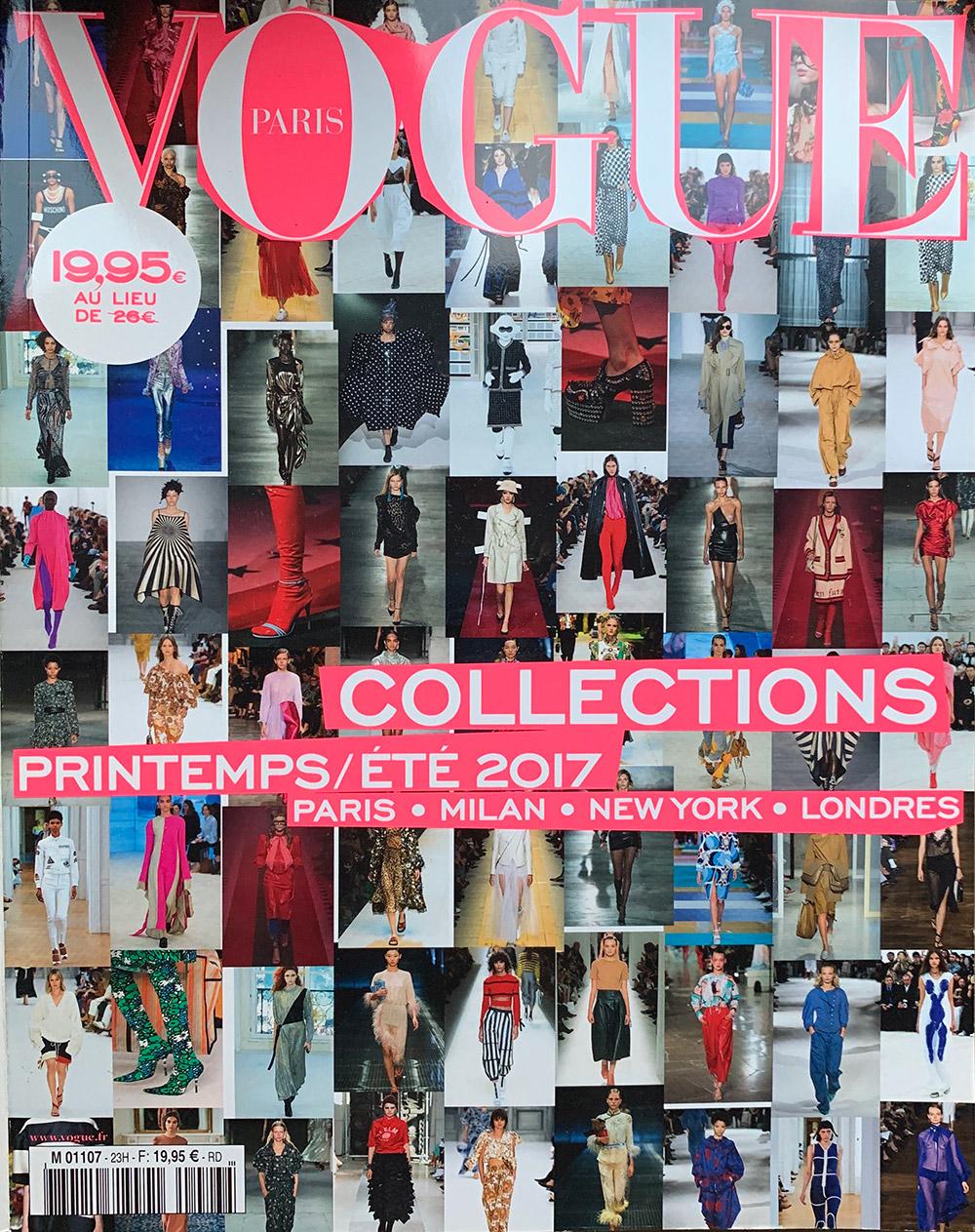 Vogue Paris Collections Feature