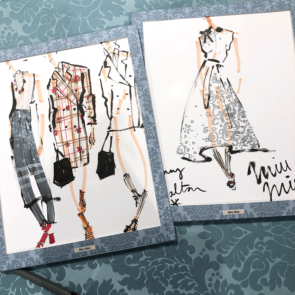 Miu Miu Illustration Event 2018