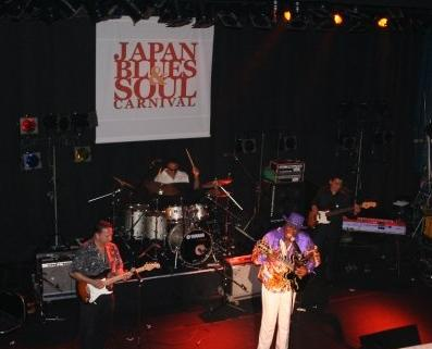 Eddy Clearwater Band in Japan  2006