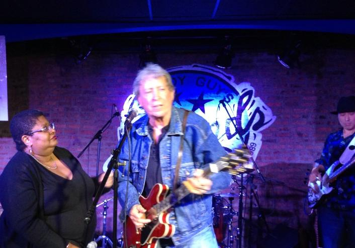 Deitra Farr & Elvin Bishop  Photo by Marilyn Stringer via Facebook
