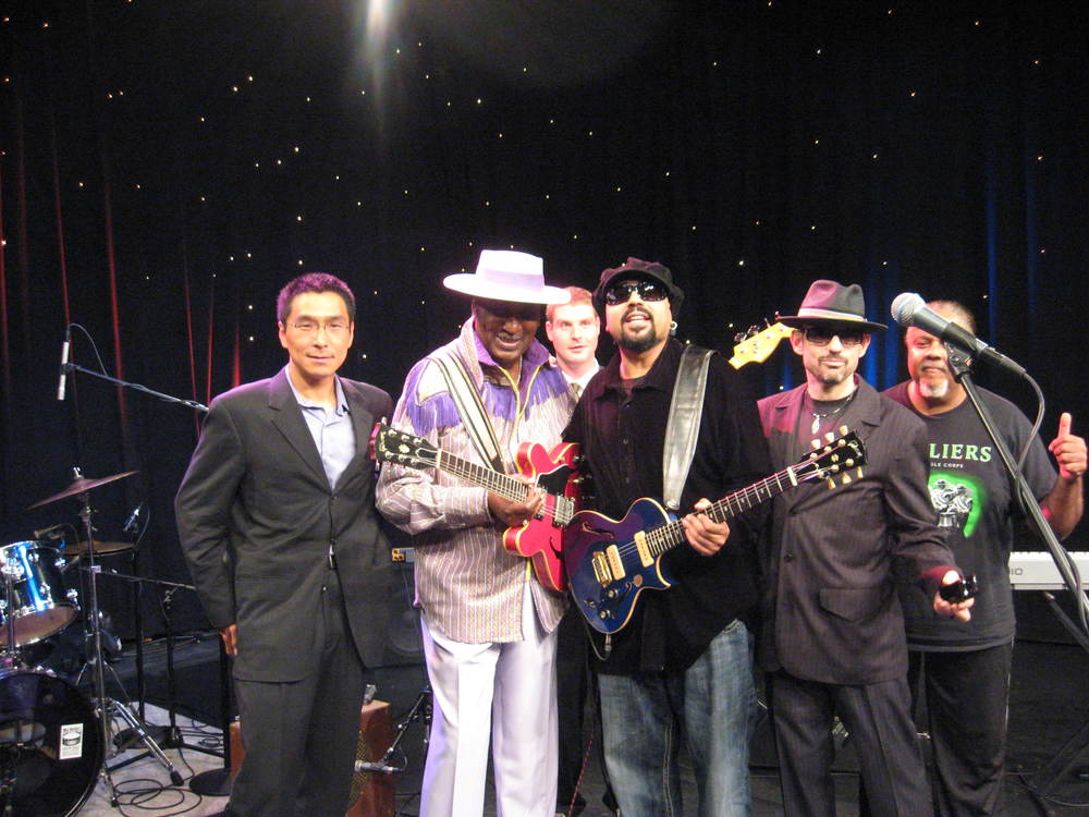 WGN TV  Eddy Clearwater Band