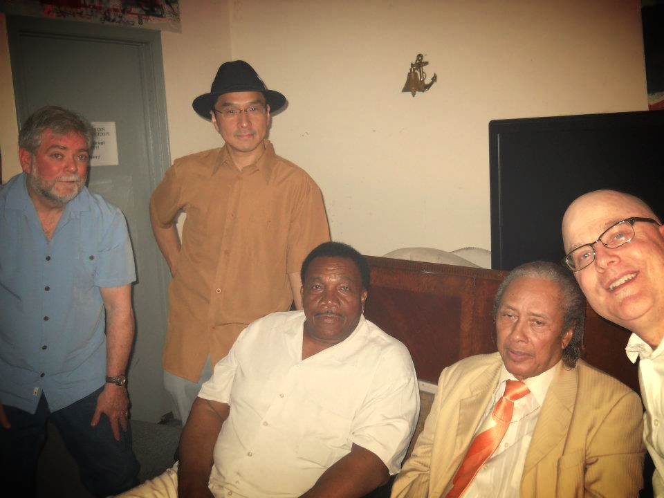 Justin O'Brien, Shoji, Willie Buck, Jimmy Mayes, and Scott Dirks