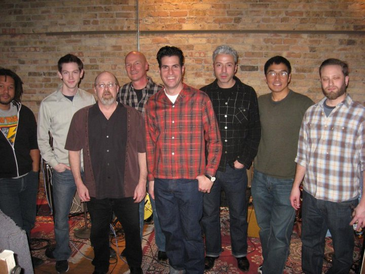 The Special 20s  Chris Neal, Doug Corcoran, Marty Binder, Jim St. Marie, Morry Sochat,  Jimmy Sutton, Shoji Naito, and Ted Beranis