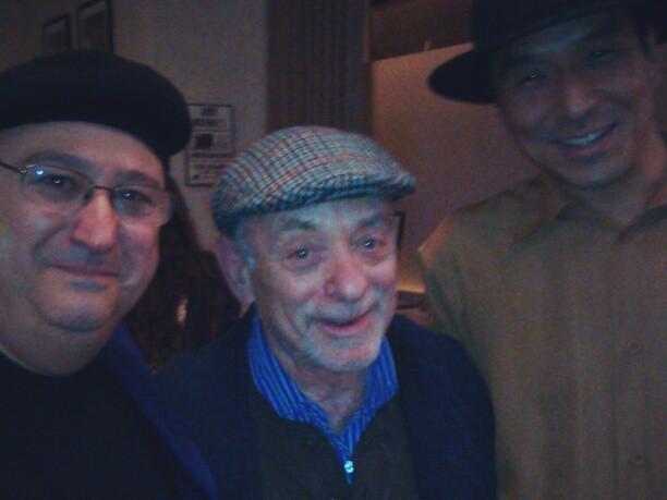 Sugar Ray Norcia, Erwin Helfer and Shoji