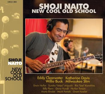 Shoji's new CD「New Cool Old School」     日本盤は BSMFレコード から発売中!    2016 Blues Blast Music Awards - 「2016ブルースブラストミュージックアワード」のデビューアーティスト部門に「New Cool Old School」がノミネートされた作品です。