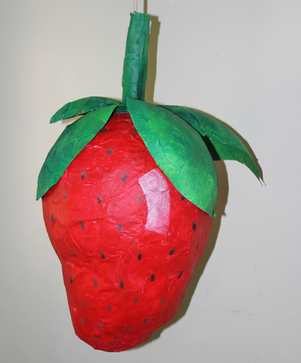 Strawberry Pinata by Nicole K. James