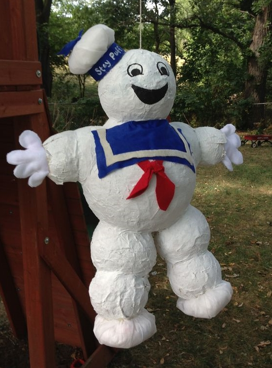 Stay Puft Marshmellow Man Pinata