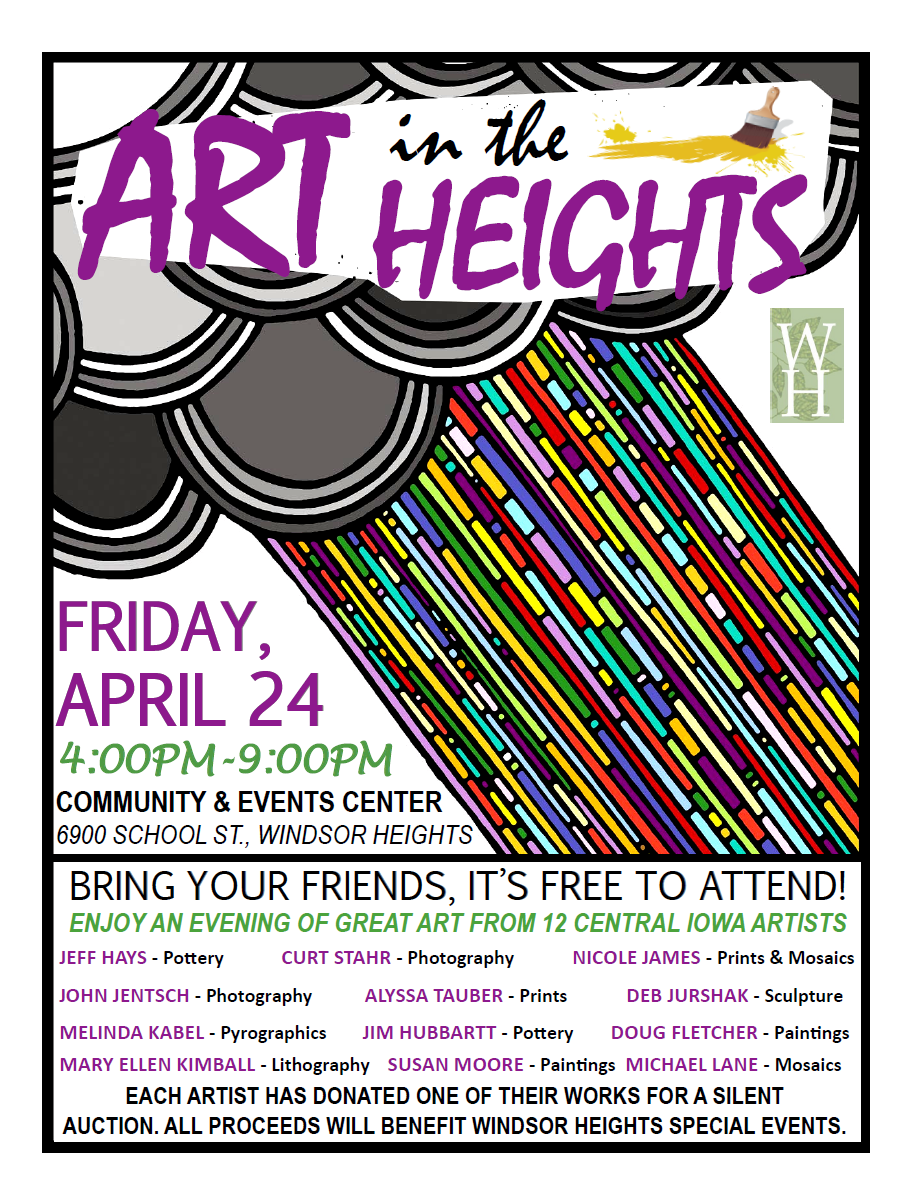 Art in the Heights - Nicole K. James Artist