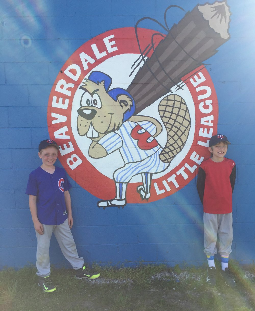 Beaverdale Little League Mural 2017 ^