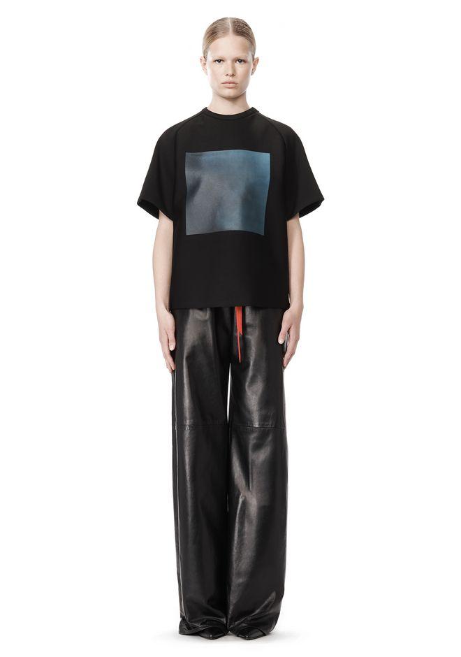 Leather Jogging Pants: Alexander Wang