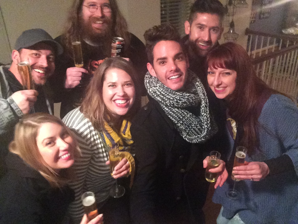 New Year's Eve Selfie Stick Success